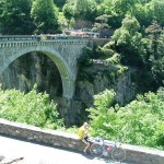 Napolean Bridge cyclist bungee