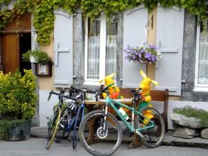 053 Minding the bikes
