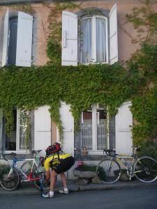 Hotel Temp cyclist
