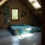 Mill house attic bedroom