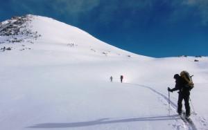 Encantats fresh snow