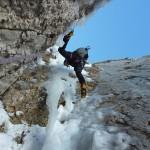 Ice climb Vertigo