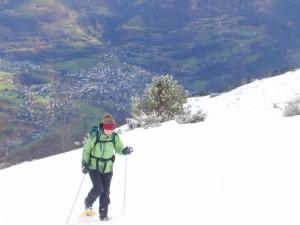 Snowshoe Col du Riou