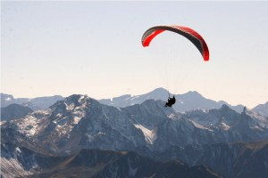 Paraglide from the top of Pic du Midi