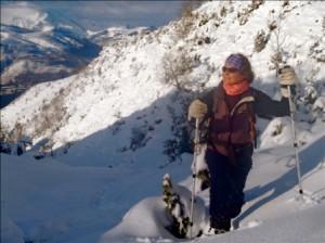 Snowshoeing Hautacam
