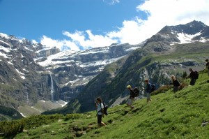 The Gavarnie Cirque and its Waterfall