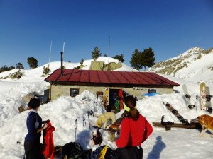 19. Refuge Saboredo w. snowboarders