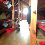 f. Sleeping quarters