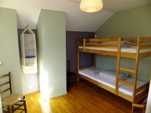 Templiers bunk bedroom