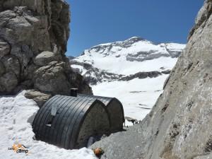Breche de Tuquerouye north face Mont Perdu