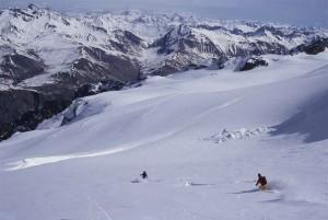 Girose glacier