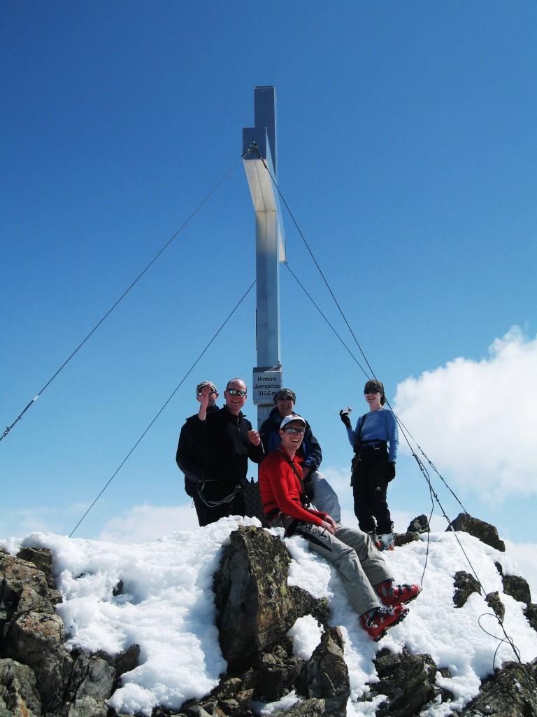 Silvretta Ski Tour summit