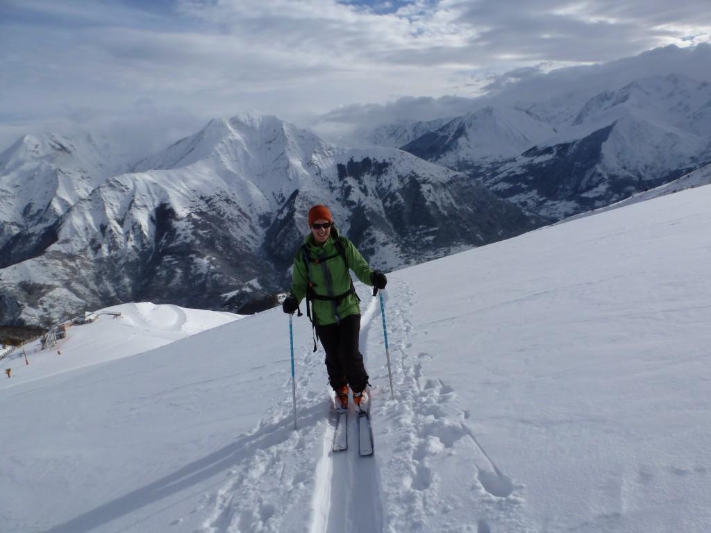 Ski touring Pyrenees