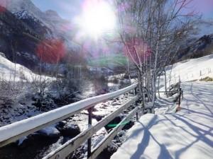 Gavarnie snowshoe