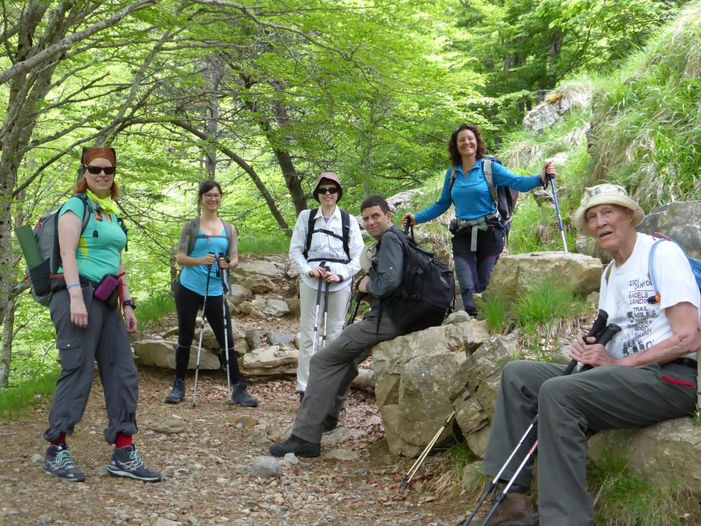 Pyrenees Discovery group early June 2015