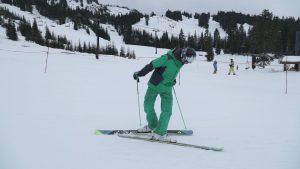 Practice-kick-turn